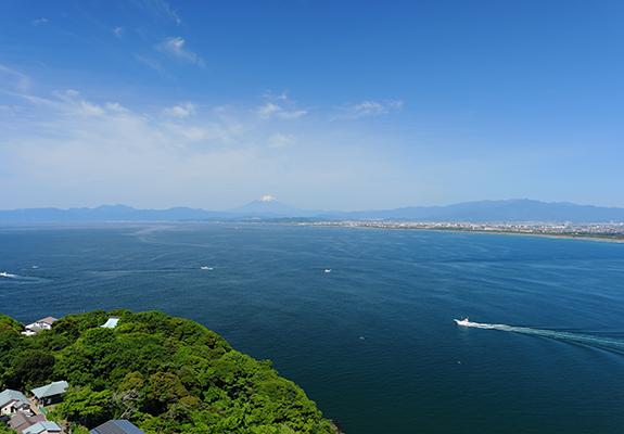 江ノ島シーキャンドル 花火